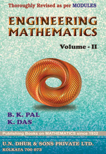 ENGINEERING MATHEMATICS VOLUME-II Paperback –  by B. K. Pal and K. Das - ey-estopper
