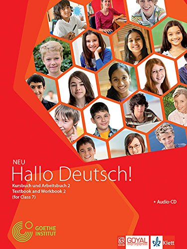 Hallo Deutsch! with CD for Class 7 Paperback – 2015 by Parul Sharma Vaishali Dabke - ey-estopper