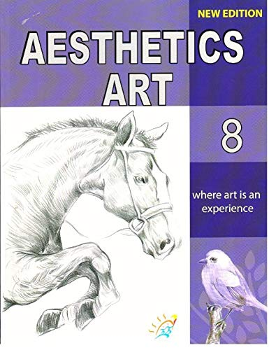 Kirti Aesthetics Art Class 8 (New Edition) Paperback – 2019 by Manjul Sharma & R.B. Sharma - ey-estopper