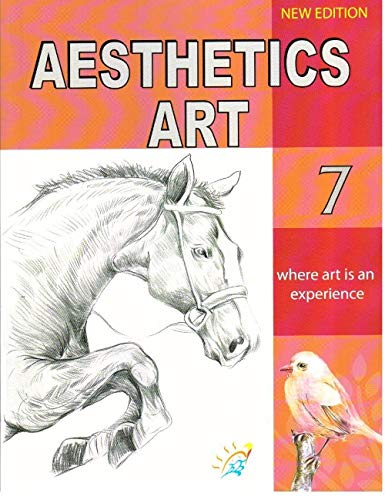 Kirti Aesthetics Art Class 7 ( New Edition) Paperback – 2019 by Manjul Sharma & R.B. Sharma - ey-estopper