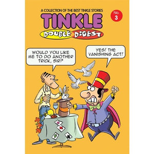 Tinkle Double Digest No. 3  by Anant Pai - ey-estopper