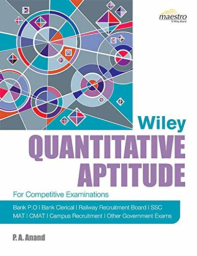 Wiley's Quantitative Aptitude - ey-estopper