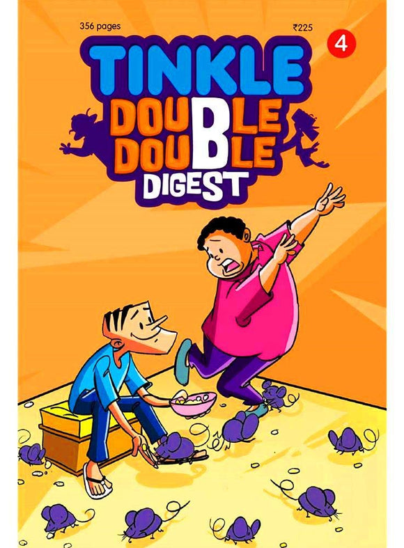 Tinkle Double Double Digest No .4  by RAJNI THINDIATH - ey-estopper