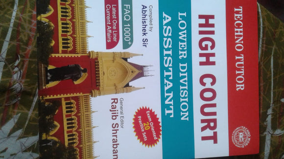 HIGH COURT-LOWER DVISION ASSISTANT -BY ABHISHEK SIR - ey-estopper