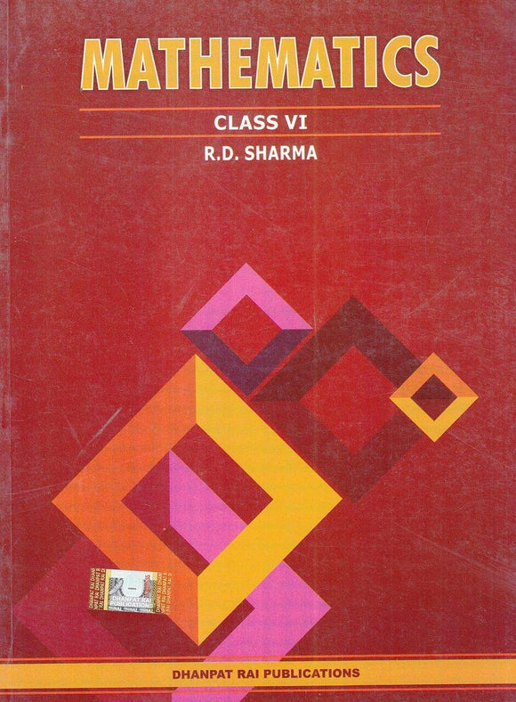 Mathematics for Class 6 by R D Sharma (2019-2020 Session) Paperback – 2018 by R.D. Sharma - ey-estopper
