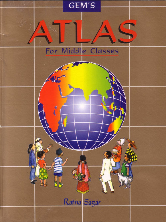 Gem's Atlas for Middle Class Paperback – Jan 2001 by Pushpa Jain - ey-estopper