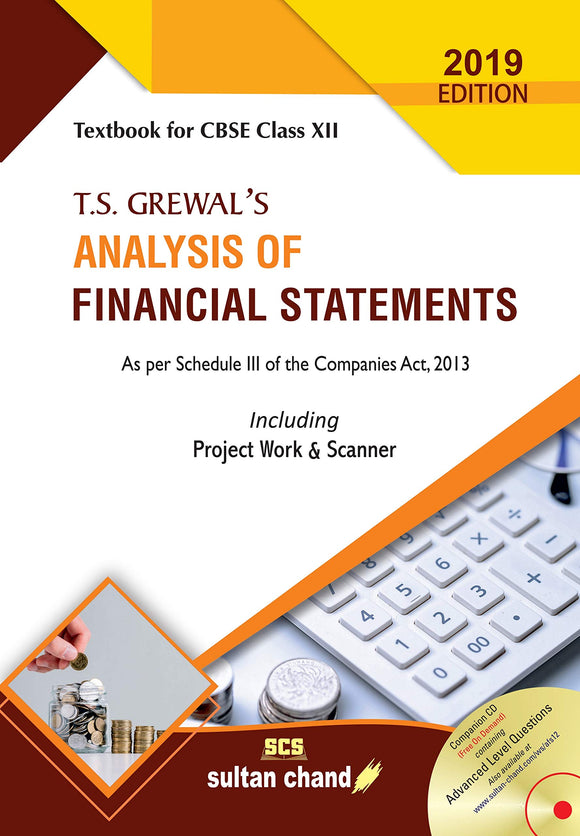 T.S. Grewal's Analysis of Financial Statements: Textbook for CBSE Class 12 Paperback – 12 Feb 2019 by T. S. Grewal (Author), H. S. Grewal (Author), G. S. Grewal (Author) - ey-estopper