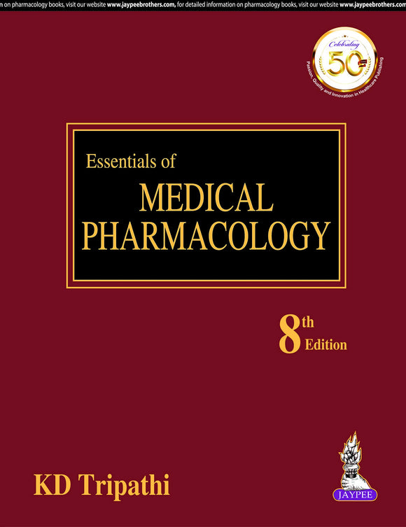 Essentials of Medical Pharmacology Hardcover – by K. D. Tripathi  (Author) - ey-estopper
