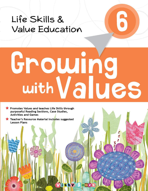 Growing with Values - 6 Paperback – 2014 by Shradha Anand (Author), Shakti Batra (Author) - ey-estopper