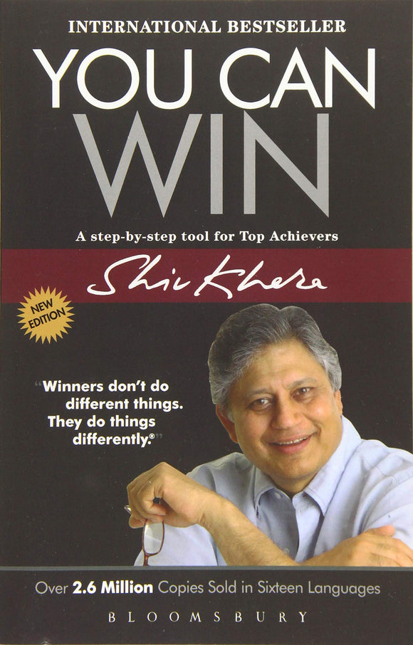You Can Win: A step by step tool for top achievers Paperback – 2014 by Shiv Khera - ey-estopper