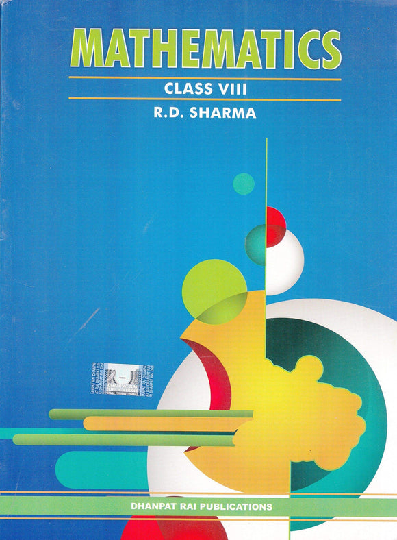 Mathematics for Class 8 by R D Sharma (2019-2020 Session) Paperback – 2017 by R.D. Sharma - ey-estopper