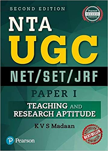 NTA UGC NET/SET/JRF - Paper 1: Teaching and Research Aptitude by Pearson - ey-estopper