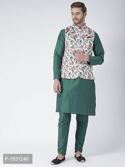 Kurta Pyjama Sets In Silk Blended Fabric - ey-estopper