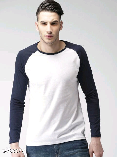 Men's Fashionable Cotton Solid T-Shirts Vol 3 - ey-estopper