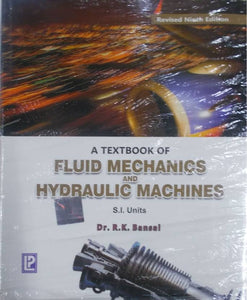 A Textbook of Fluid Mechanics and Hydraulic Machines  (, Bansal R. K.) - ey-estopper