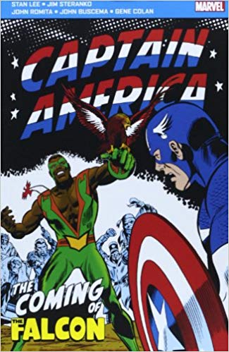 Captain America: the Coming of the Falcon (Marvel Pocket Books) Paperback - ey-estopper
