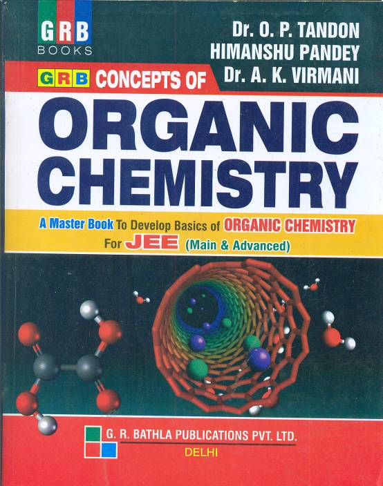 CONCEPTS OF ORGANIC CHEMISTRY FOR JEE (MAIN & ADVANCED) BY-TANDON AND PANDEY - ey-estopper