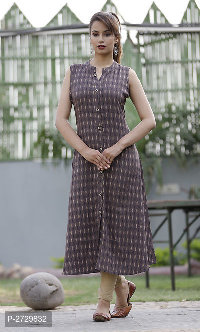 Multicoloured Printed Rayon  Kurti for  Women's - ey-estopper