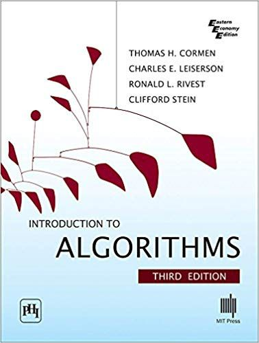 INTRODUCTION TO ALGORITHMSBY THOMAS H. CORMEN , CHARLES E. LEISERSON , CLIFFORD STEIN - ey-estopper