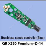 QR X350 Premium-Z-14 Brushless Speed Controller (Blue)