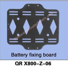 QR X800-Z-06 Battery Fixing Board - MyRCVision.com