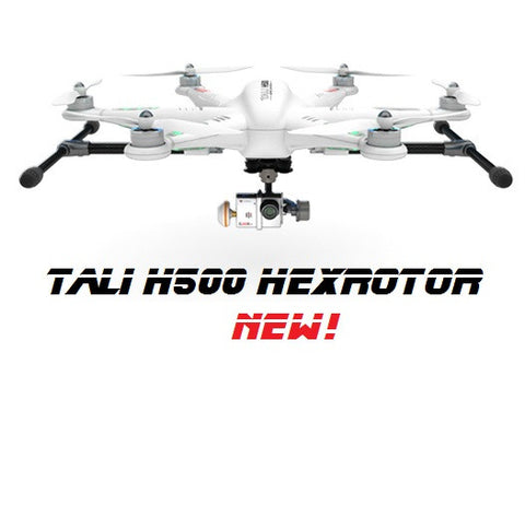 Tali H500 Aerial Photography Platform