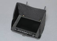 Folding Sunshade for  RX-LCD5802 FPV Monitor - MyRCVision.com - 1