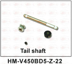 HM-V450BD5-Z-22 Tail shaft - MyRCVision.com