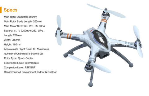 QR X350 Quad with GPS/Altitude Hold Mode