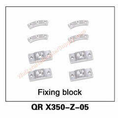 QR X350-Z-05 Fixing block - MyRCVision.com