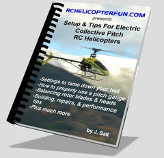 Setup & Tips For Electric Collective Pitch RC Helicopters - MyRCVision.com