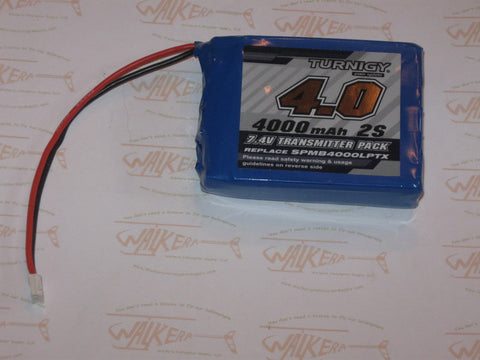 Turnigy 4000mAH 7.4v 2S Lipo Battery For Spektrum TX