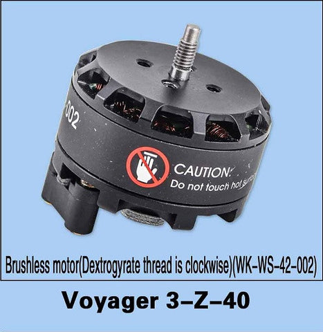 Voyager 3-Z-40 Brushless Motor (Dextrogyrate (CW) Thread)