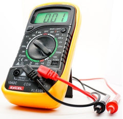 Digital Voltmeter, Ammeter, and Ohmmeter Model XL-830L US - MyRCVision.com