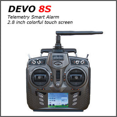 DEVO 8S Transmitter (w Telemetry Features) - MyRCVision.com