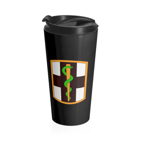 1st Medical Brigade Stainless Steel Travel Mug