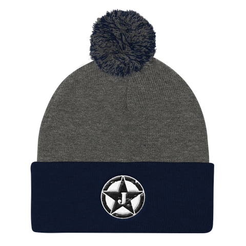 JungleStarz Embroidered Knit Cap