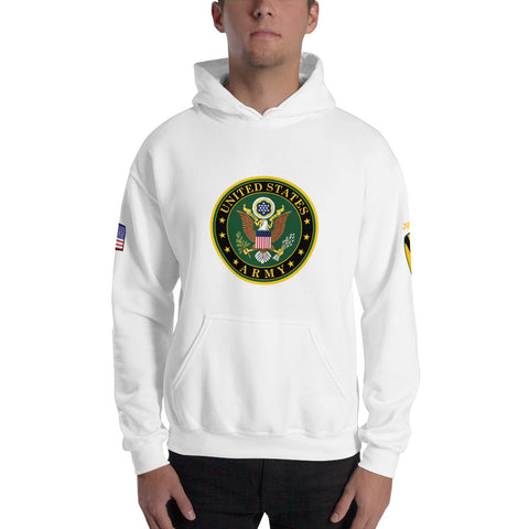 Custom U.S. Army Hooded Sweatshirt