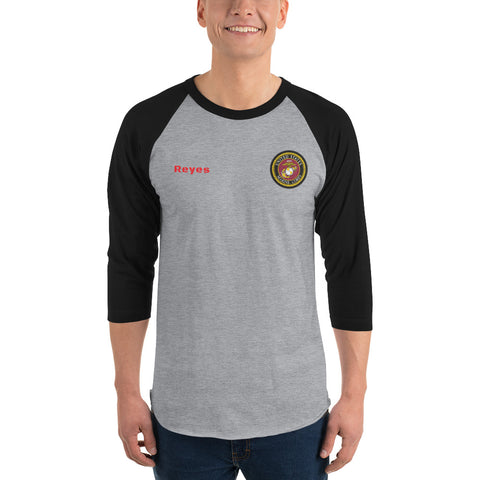 USMC customizable 3/4 sleeve shirt