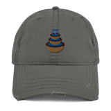 The Family Fountain Distressed Hat