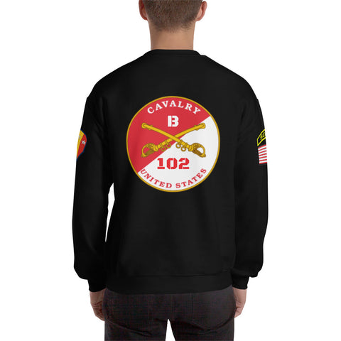 102nd Cavalry Customizable Sweatshirt