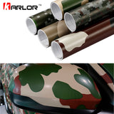 Camouflage Vinyl PVC Car Sticker Wrap