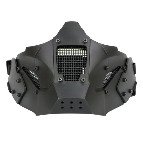 Tactical Half Face Mask Protective Mesh