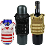 Tactical Beer Bottle Cover Military Molle Vest