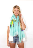 BLISS: Wander Word Wraps/Scarves