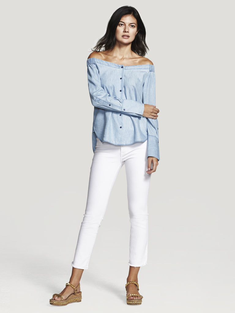 The East Hampton Off Shoulder Top