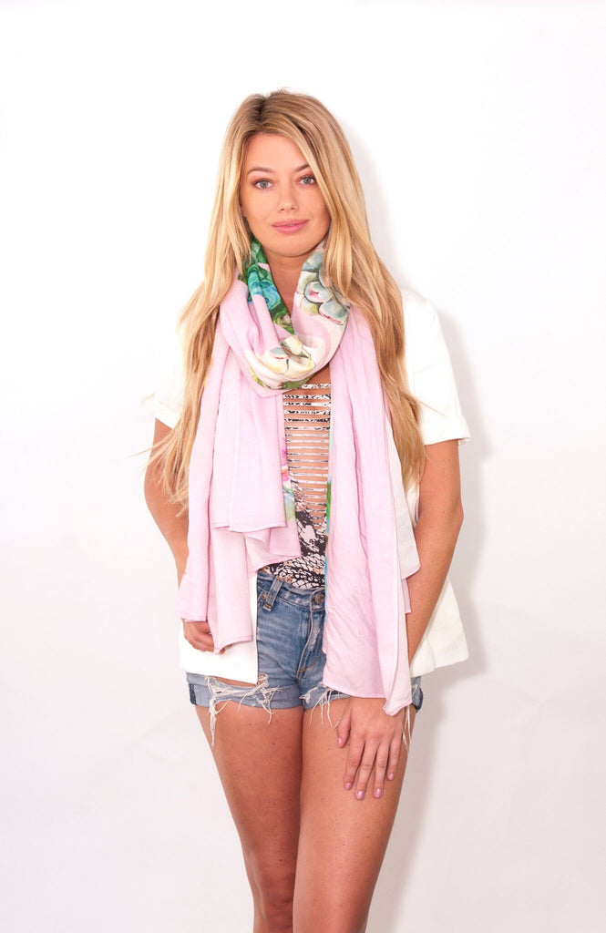 NAMASTE: Wander Word Wraps/Scarves