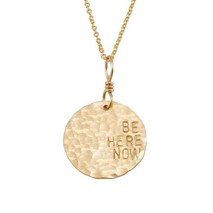 'Be Here Now' Necklace
