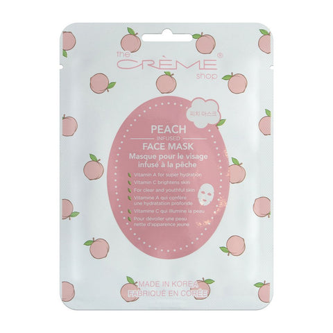 PEACH INFUSED FACE MASK