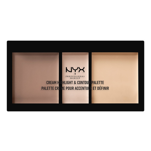Cream Highlight and Contour Palette: Light